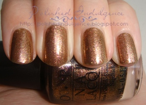 OPI Warm and Fozzie from the Muppets Collection