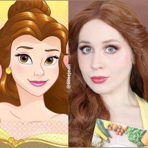 Belle Wreck It Ralph 2 Comfy Princess Makeup Tutorial Disney 2020 | Lillee Jean https://youtu.be/7fy8rATa9-k