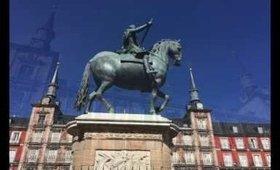 My Madrid trip  - A snapchat story