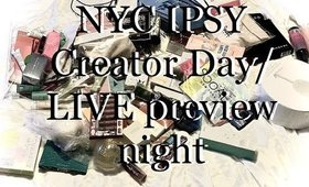 IPSY LIVE Preview Night/Creator Day New York - Swag Bag