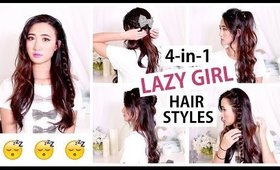 4 Easy Hairstyles Every Lazy Girl Must Know | Cerinedipity