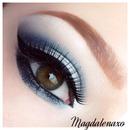 Navy silver eyes