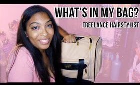 WHAT'S IN MY HAIR BAG? WHY I DON'T LIKE NuMe + CREEPY PHONE SCAM?!