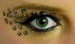 leopard inspired eye