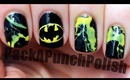 Batman Nail Art Tutorial