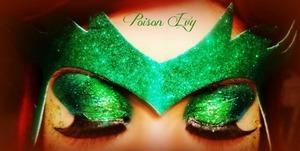 Fancy dress poison ivy make up using mac glitters :)