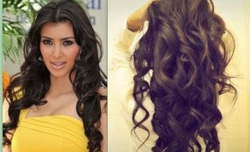★ KIM KARDASHIAN HAIR | HOW TO CURL LONG HAIR TUTORIAL | BIG, SEXY, SOFT CURLS HAIRSTYLES