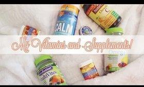 My Vitamins & Supplements!