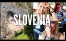 SCOTTISH + ENGLISH ROAD TRIP TO HORROR HOTEL | SLOVENIA VLOG 1