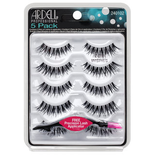 5 Pack Demi Wispies Black