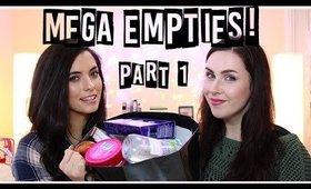Mega EMPTIES! Part 1 ft. FitMakeup | LetzMakeup