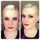 Black Liner & Red Lips