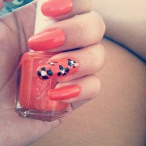 Flowers with orange <3