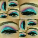 Tropical Sunset Look
