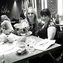 being fancy at high tea