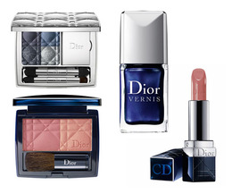 Dior Launches Blue Tie Fall 2011 Collection