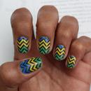 Chevron Nail Art Decals