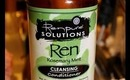 Curly Girl Wednesday: Ren Pure Solutions Cleansing Conditioner Review.