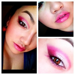 """Used My Beauty Mark palette and Love+ along with """"Venus"""" and """"Crave"""" from Naked Basics."""