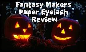"""Fantasy Makers """"Bewitching Eyes"""" Eyelash Review"""
