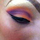 Purple and orange! Sunset!