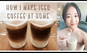 how i make sweet iced coffee at home (not dalgona/whipped.. sorry) ● EverSoCozy