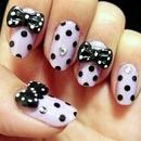 bow & dots <3