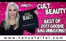 Cult Beauty Best of 2017 Goodie Bag Unboxing! #OMG!!! | Tanya Feifel-Rhodes