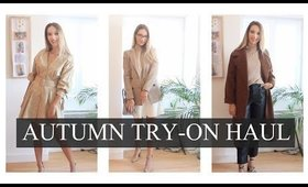 AUTUMN TRY ON HAUL : H&M, ZARA, MANGO...