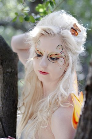 Model: Cassandra Jensen, Makeup: Amy Orona