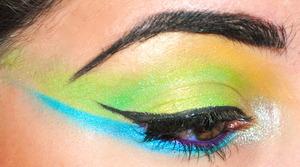 Dramatic eyes using Sugarpill Cosmetics