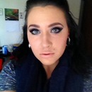 Makeup of The Day- Blue Smokey Eye