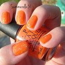 Orange Glitter Sandwich