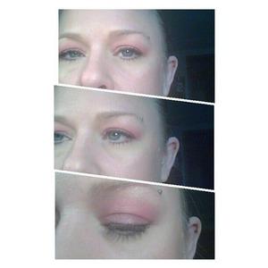 pink eyelook