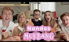 getting exposed for hooking up with caspar's friend BUT a NANDOS MUKBANG