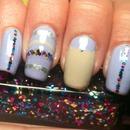 Lilac W/ Rainbow Glitter