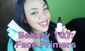 Beauty 101: Face Primers