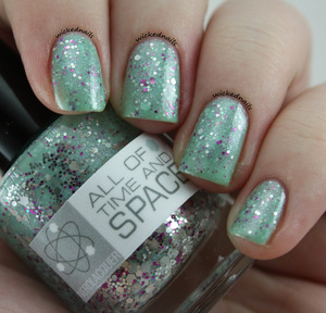 All of Time and Space from NerdLacquer.com