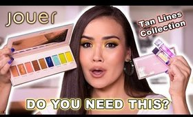 REVIEWING JOUER TAN LINES COLLECTION - SUMMER PERFECT? | Maryam Maquillage