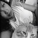 My cat n me