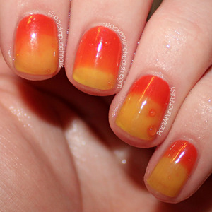 Phoenix by Nail Polish Couture is a thermal color changing nail polish. It is red while it is cold and yellow while it is warm.  This is 3 coats of Phoenix with one coat of Out The Door top coat.  Check out more polishes by Nail Polish Couture at http://nailpolishcentral.bigcartel.com  Follow Nail Polish Couture on Instagram http://instagram.com/nailpolish_couture  Full Blog Post: http://www.packapunchpolish.com/2013/04/phoenix-by-nail-polish-couture.html