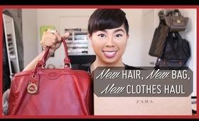 New Hair, New Bag, New Clothes Haul (Zara, Saks 5th Ave, TJ Maxx)  |  StyleMinded