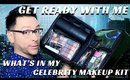 WHAT'S IN MY CELEBRITY MAKEUP KIT BAG? GET READY WITH ME - mathias4makeup