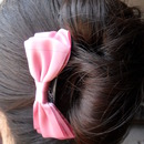 Hair Updo With Satin Bow Comb