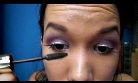 Violet obsession - makeup tutorial