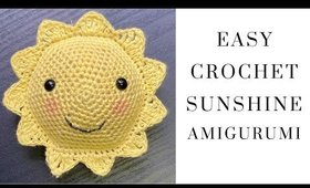 Easy Crochet Sunshine Amigurumi