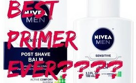 Nivea Post Shave Balm Face Primer?