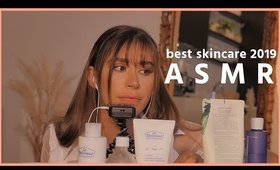 RELAXING ASMR - best skincare of 2019