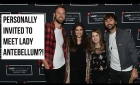 FLYING TO NASHVILLE TO MEET LADY ANTEBELLUM?!