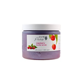 100% Pure Raspberry Body Scrub